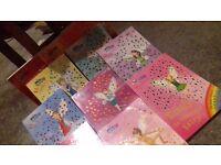 Rainbow Magic childrens' fairy books by Daisy Meadows.