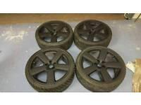 19 inch audi vw rs6 alloy wheels