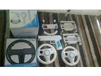 Wii accessories £2 each £10 the lot collection linton