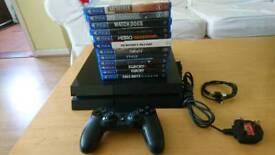 Play station 4 Bundle 12 Games
