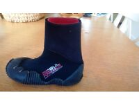 GUL Junior Extra Large ( 21.5cm ) 5mm Wetsuit Boot Black