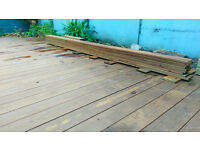5m Kebony Hardwood decking boards for sale