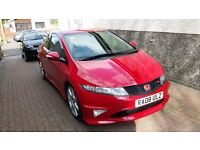 Honda Civic Type R GT, 2008, Milano Red, FSH - Excellent Example