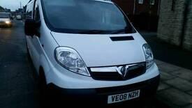 Vauxhall Vivaro 8+1 seats