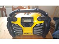 Well looked after Dewalt DCR016-GB Site radio, 230 v, GWO, see photos & details
