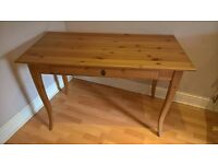 ikea table desk with drawer