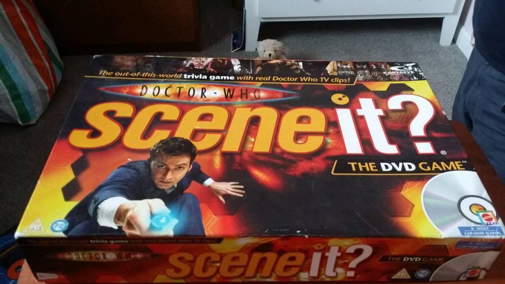 Scene it board games doctor who James bond