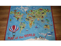Children's Map of the World Rug