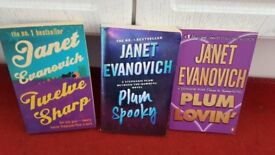 JANET EVANOVICH X 3 PAPER BACK BOOKS