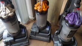 3 Dyson upright vacuum cleaner