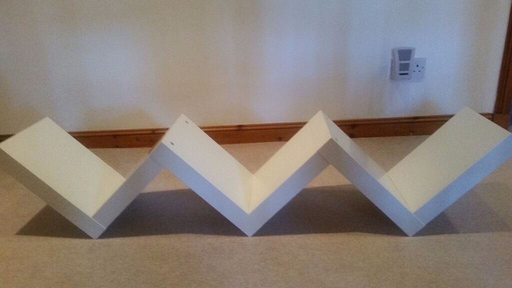 Shelf Ikea Lack Zig Zag Shelf White In Livingston