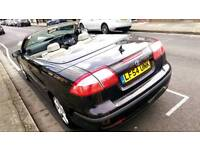 Saab 93 2004 convertible low mileage 78k only long MOT fully loaded
