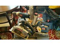 Ryobi tool set