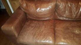 leather sofa Harringay N4