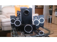 Pc speakers CREATIVE 5.1 Inspire T6100 very good condition