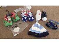 REDUCED Baby shoes/accessories