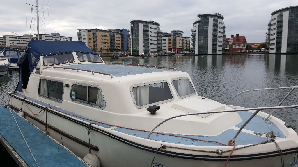 Norman River Cruiser Boat For Sale 23 Ft  In South East London London  Gum