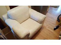Cream Single Seater Armchair