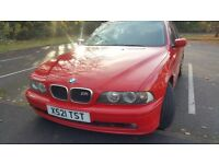 IMMACULATE BMW 5 SERIES,2.2 MANUAL,F.S HISTORY, AMAZING CONDITION,EXCELLENT DRIVE,NOT TO BE MISSED!!