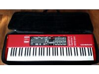 Nord Electro 4HP Hammer Action Keyboard + Nord Stand and Pedal, M-Audio Midi Pedal, Music Stand