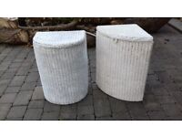 Wicker Laundry Baskets.