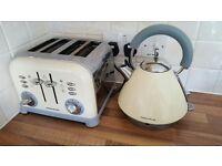 4 Slice Toaster & Kettle For Sale