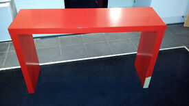 Ikea Red Table with wheels