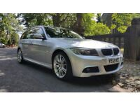 2012 BMW 318D M SPORT TOURING 123000 MILES 2 FORMER KEEPER IDRIVE BIG SATNAV £30 YEAR ROAD TAX 320D
