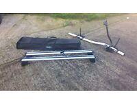 Audi Q5 Roof Rails & Thule Bicycle rack, Hardly used, bargain £120