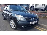 2003 Renault Clio 1.5 dCi Expression 5dr Hatchback, £695 p/x welcome