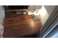 Rosewood table with or without matching chairs and stools