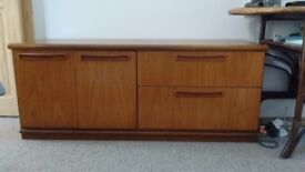 Meredew Mid Century Sideboard, two draws and cupboard