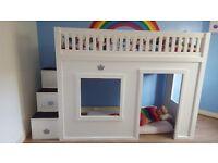 Custom built single bed RRP £1000+