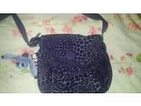 Purple Kippling bag