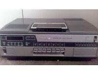 Sanyo Betacord video cassette recorder