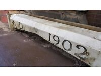 One Off Victorian Stone Frontage | Landscaping | Garden detail | Antique | Bench