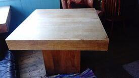 Lovely pair of wooden tables nice condition free delivery