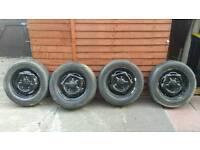 6 x transit tyres