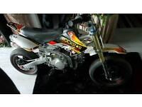 Supermoto pitbike for swap
