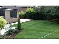 Turf,Fencing, garden leveling