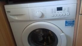 BEKO washing machine from CURRYS but used for only 5 months,7kg.Replaced with a washer dryer