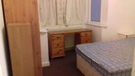 Large double room fully furnished low deposit