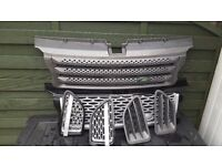 Front Grill and Side Vents For Range Rover Sport HSE 2007