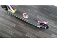 Forged rainbow frame stunt scooter