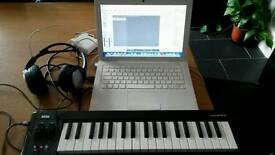 Apple Mac book logic midi studio pack