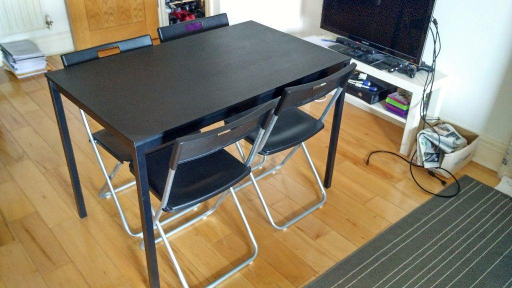 Ikea dinning table set T196REND214 GUNDE in Kensington  : 86 from www.gumtree.com size 1024 x 576 jpeg 85kB