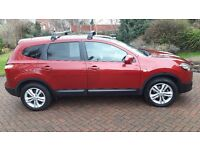 2012 Nissan Qashqui +2 Acenta 1.5 DCi (Diesel) 7 Seater, Immaculate Condition inside and out.