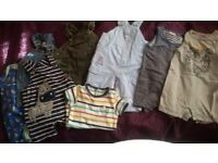 BABY BOY BUNDLE OF CLOTHES 3-6 MONTHS, GREAT FOR SUMMER! ABOUT 50 ITEMS!!