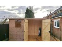 Brand New Sheds for sale 10ft x 7ft pent roof including free delivery and assemble in Nottingham