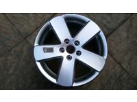"17"" VW Borbet Alloy Wheel"